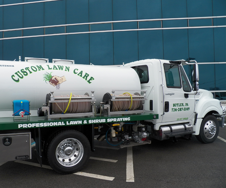 CLC Spray Truck